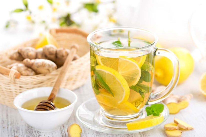 Honey Lemon Ginger Tea Recipe