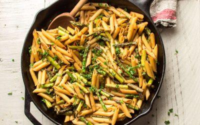 Balsamic Asparagus Pasta