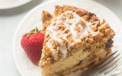 Cinnamon Swirl Vegan Coffee Cake