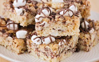S'mores Rice Krispy Treats Recipe