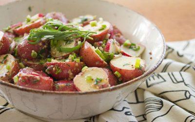 Mustard-Tarragon Potato Salad