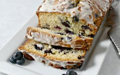 Blueberries and Cream Quick Bread