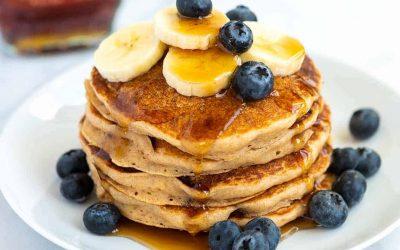 Extra Easy Vegan Pancakes