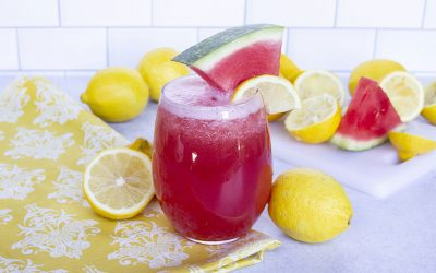 Homemade Watermelon Lemonade